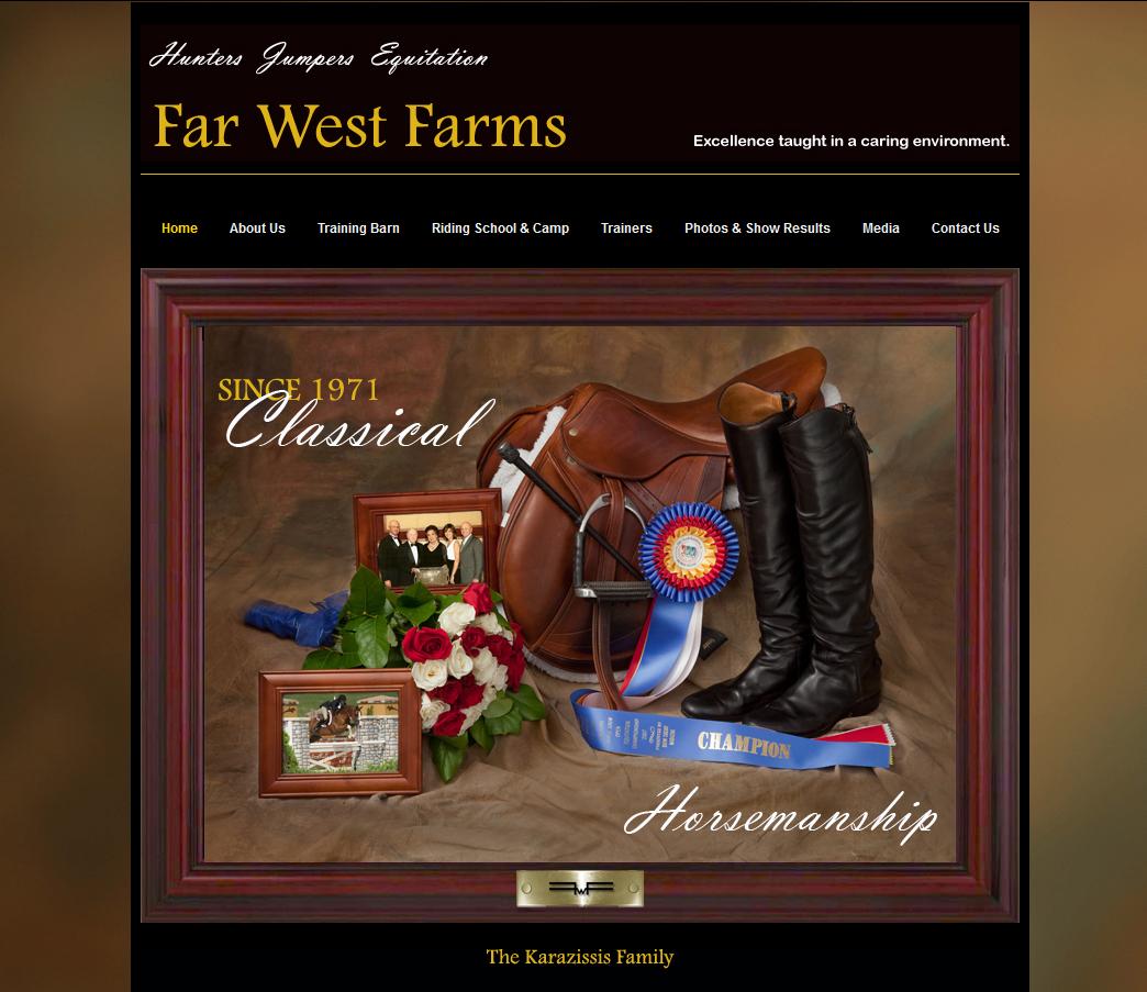 Website Services - Far West Farms