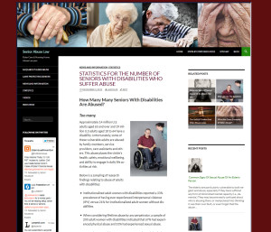 Elder Abuse Law Website For Sale