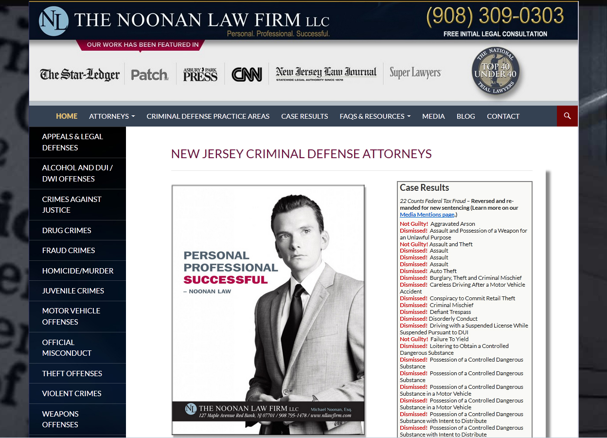 Noonan Criminal Defense Attorney