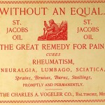 St. Jacobs snake oil. Photo by Cirt Wikimedia Commons