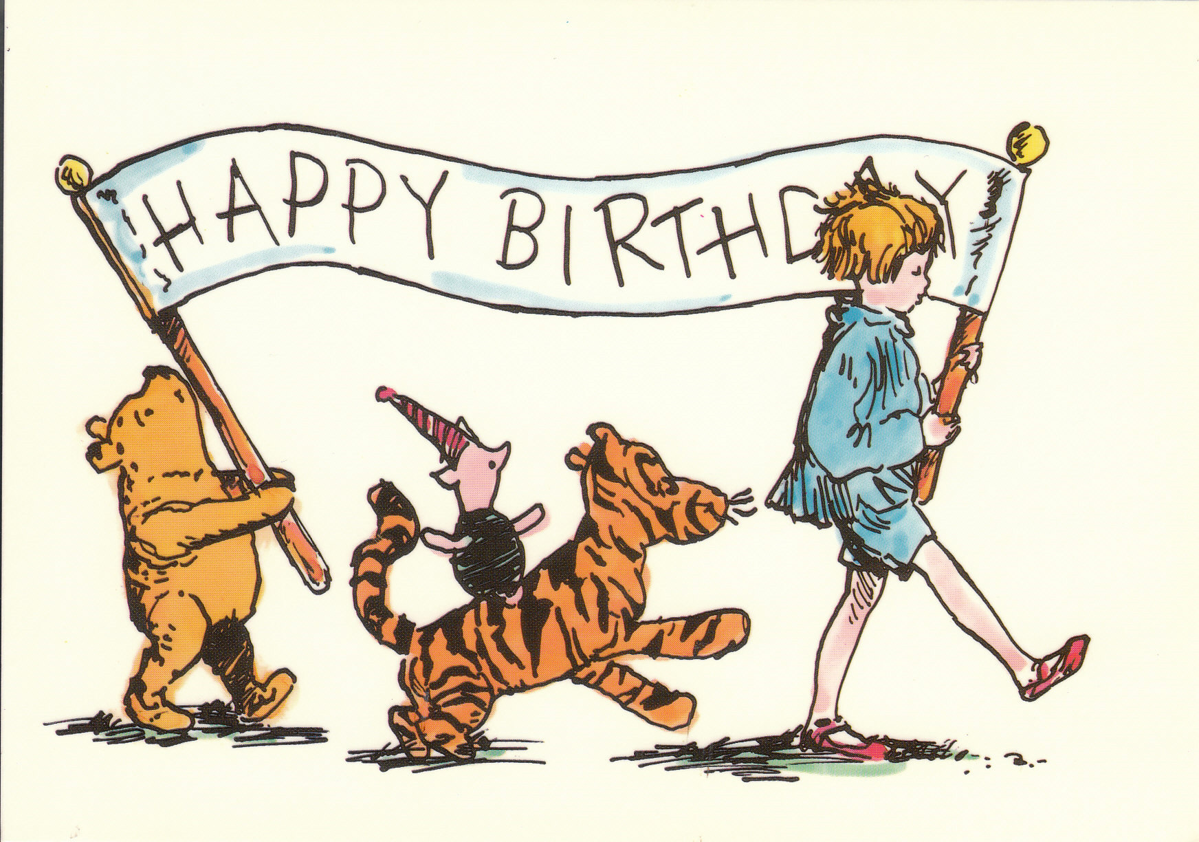 Happy National Winnie-the-Pooh Day (January 18th)