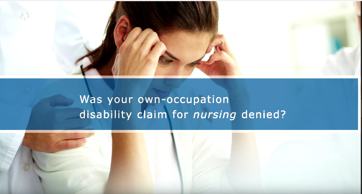Own-Occupation Disability Claims for Nurses